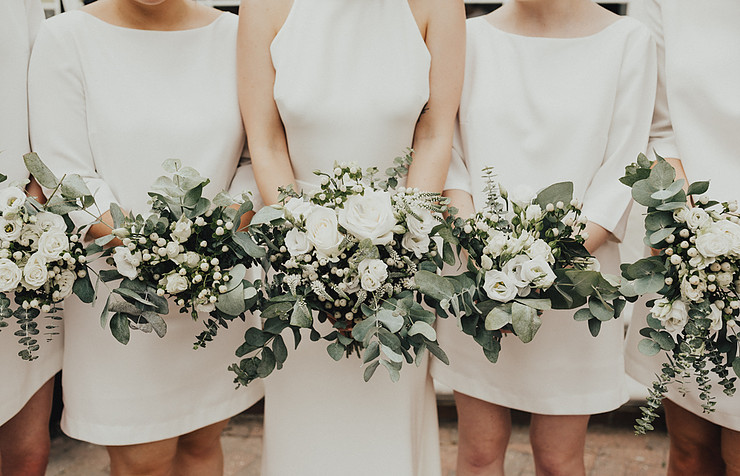 All White Wedding Inspiration for Winter | Sweetpea & Blossom Luxury Planners