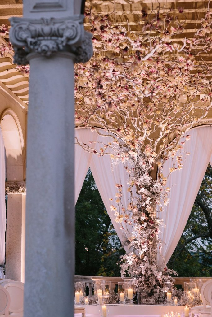 Cliveden House Wedding | Autumn Luxe with Sweetpea & Blossom